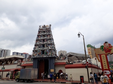 Chinatown Sri Mariamman temple