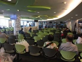Cruise Center waiting