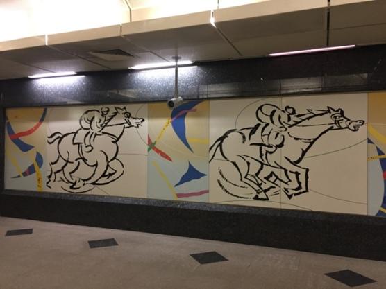 Farrer Park MRT mural