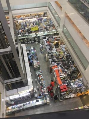 Mustafa shopping
