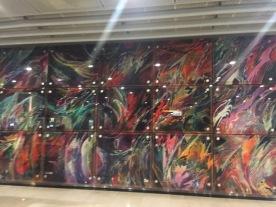 Serangoon MRT murall