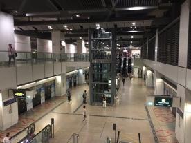Serangoon MRT platform